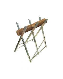 Faithfull Sawhorse Folding Trestle Galvanised - FAISAWHORSE