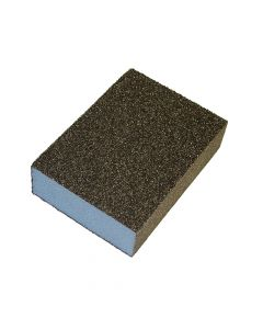 Faithfull Sanding Block - Coarse/ Medium 90 x 65 x 25mm - FAISBCM