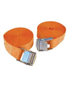 Faithfull Cam Style Tie-Downs 25mm x 5m 2 Piece - FAITDCAM51