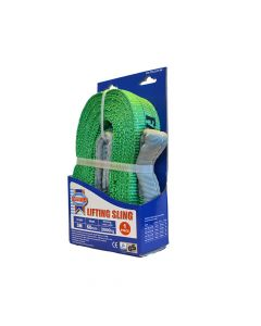 Faithfull Lifting Sling Green 2 Tonne 60mm x 3m - FAITDLS2T3M