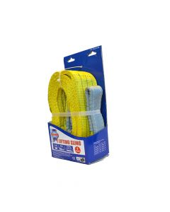 Faithfull Lifting Sling Yellow 3 Tonne 90mm x 3m - FAITDLS3T3M