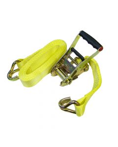 Faithfull Ratchet Tie-Down 5m x 50mm Trucker Breaking Strain 4000kg - FAITDTRUCK52