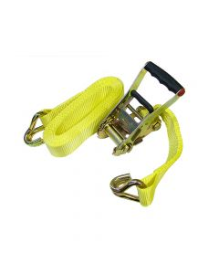 Faithfull Ratchet Tie-Down 8m x 50mm Trucker Breaking Strain 4000kg - FAITDTRUCK82
