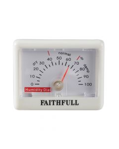Faithfull Humidity Dial (Hygrometer) - FAITHHUMID