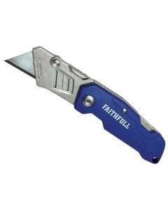 Faithfull Lock Back Utility Knife - FAITKLBN
