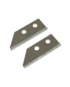 Faithfull Replacement Carbide Blades For FAITLGROUSAW Grout Rake (Pack of 2) - FAITLGROUSB