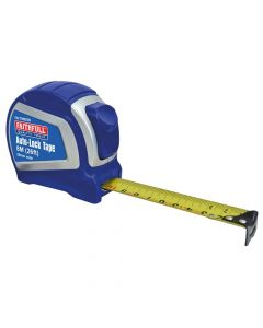 Faithfull Auto-Lock Tape 8m/26ft (Width 25mm) - FAITM825N