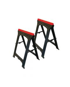 Faithfull Plastic Trestles Height 82cm x Length 57cm (Twin Pack) - FAITRESTLESP