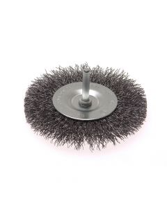 Faithfull Wire Brush 100mm x 6mm Shank 0.30mm - FAIWBS100C