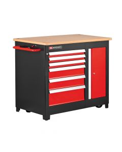 Facom Heavy-Duty Mobile Workbench - FCMJET6MWB