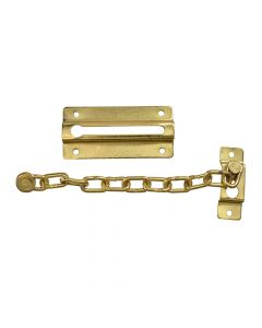 Forge Door Chain - Brass Finish Plated 80mm - FGEDCHNBR80