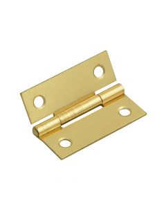 Forge Butt Hinge Brass Finish 50mm (2in) Pack of 2 - FGEHNGBTBP50