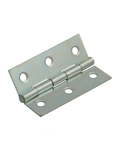 Forge Butt Hinge Steel Zinc Plated 75mm (3in) Pack of 2 - FGEHNGBTZP75