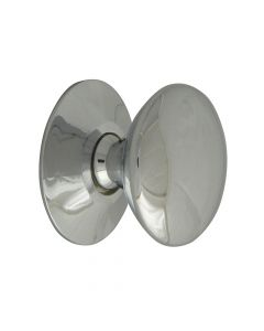 Forge Cupboard Knobs - Victorian Chrome Finish 25mm Pack of 5 - FGEKNOBVCH25