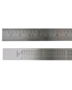 Fisher F39ME Steel Rule 1 Metre / 39in - FIS39