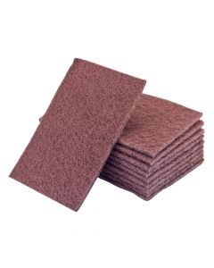 Flexipads World Class Hand Pads Maroon Standard Very Fine 150 x 223mm (10) - FLE34005