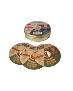 Flexovit Multi-Purpose Cutting Discs 115 x 22mm (Pack of 10) - FLV36871