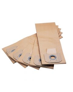 Flex Power Tools Paper Filter Bags Pack of 5 - FLXFILTBAG