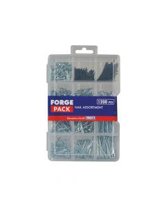 ForgeFix Assorted Nail Kit Forge Pack 1200 Piece - FORFPNLSET