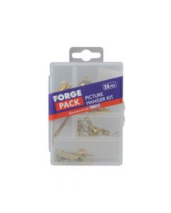 ForgeFix Picture Hook Kit Forge Pack 28 Piece - FORFPPICTSET