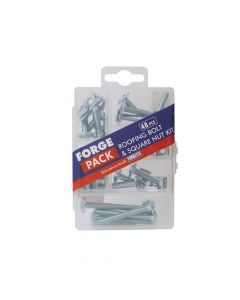 ForgeFix Roofing Bolt Kit Forge Pack 48 Piece - FORFPRBNSET