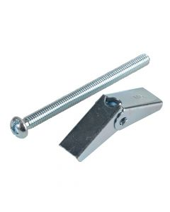 ForgeFix Plasterboard Spring Toggle ZP M6 x 75mm Forge Pack 4 - FORFPTOG675