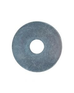 ForgeFix Flat Mudguard Washers ZP M12 x 50mm Forge Pack 6 - FORFPWAS1250