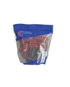 ForgeFix Plastic Plug & Drill Kit 402 Piece - FORPLUGPACK