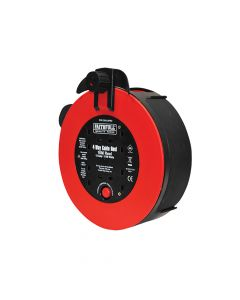 Faithfull Fast Rewind 4 Socket Cable Reel 10 Metre 3120 Watt 13 Amp - FPPCR1013PRO