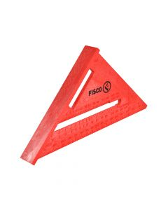 Fisco X55E Red Plastic Rafter Angle Square 175mm - FSCX55E