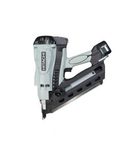 Hitachi Gas Clipped Head Strip Framing Nailer 7.2V 2 x 1.4Ah Li-Ion - HITNR90GC2