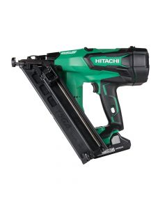 Hitachi Cordless 15G Angled Finish Nailer 18V 2 x 3.0Ah Li-Ion - HITNT1865DBA