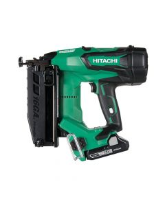 Hitachi Cordless 16G Straight Finish Nailer 18V 2 x 3.0Ah Li-Ion - HITNT1865DBS
