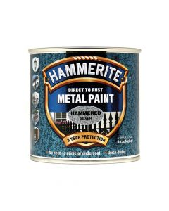 Hammerite Direct to Rust Hammered Finish Metal Paint Black 2.5 Litre - HMMHFBL25L