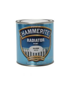 Hammerite Radiator Paint Gloss White 500ml - HMMREG500