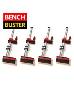 Bessey K Body REVO 2.0 KRE80-2K 800/95 Quad Pack 4 Clamps, Clamping force up to 7,000N, Very large parallel clamping surface
