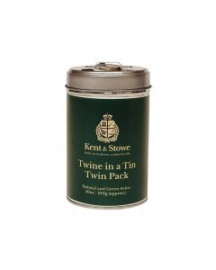 Kent & Stowe Twine in a Tin Natural & Green Twin Pack 50m (100g) - K/S70100815