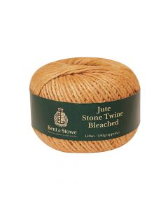 Kent & Stowe Jute Twine Bleached Stone 150m (250g) - K/S70100830