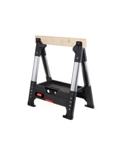 Keter Roc Lumberjack Adjustable Single Sawhorse - KET17203039