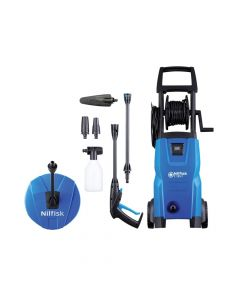 Kew Nilfisk Alto C125.7-6 PCA X-TRA Pressure Washer with Patio Cleaner & Brush 125 bar 240V - KEWCOM125HG