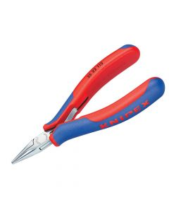 Knipex Electronics Half Round Jaw Pliers Multi-Component Grip 115mm - KPX3522115