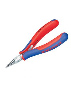 Knipex Electronics Round Jaw Pliers Multi-Component Grip 115mm - KPX3532115