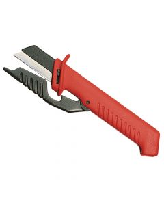 Knipex Cable Knife with Hinged Blade Guard - KPX9856