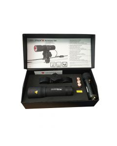 Ledlenser P7 Professional Torch With Pressure Switch & Gun Mount - LED1200
