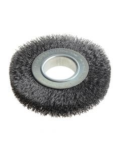 Lessmann Wheel Brush D125mm x W20-22 x 40 Bore Set 2 Steel Wire 0.30 - LES334162