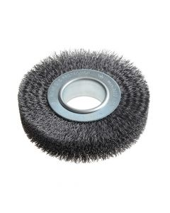 Lessmann Wheel Brush D125mm x W29-31 x 40 Bore Set 2 Steel Wire 0.30 - LES334163
