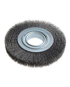 Lessmann Wheel Brush D178mm x W23-25 x 50 Bore Set 3 Steel Wire 0.30 - LES355162