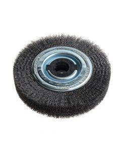 Lessmann Wheel Brush D200mm x W40-45 x 80 Bore Set 4 +1 Steel Wire 0.30 - LES366163