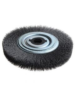 Lessmann Wheel Brush D250mm x W30-35 x 100 Bore Set 4 +1 Steel Wire 0.30 - LES377162
