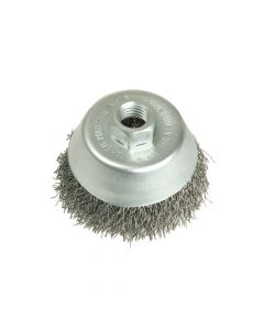 Lessmann Cup Brush 100mm M14 x 0.35 Steel Wire - LES426177